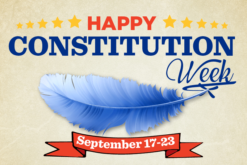 Constitution deserves special recognition with a designated day