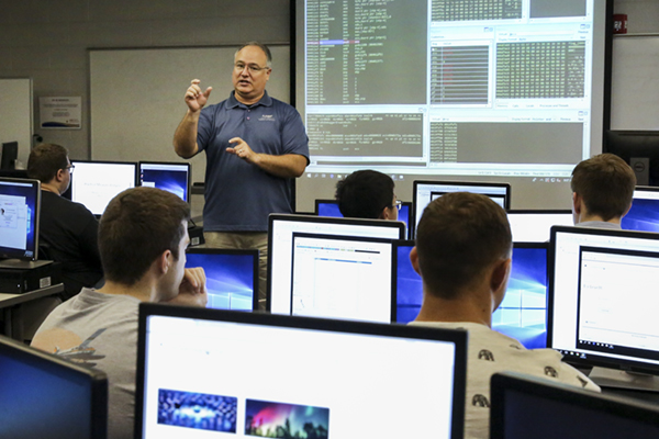 Students finish in top 10 nationally in cybersecurity contest