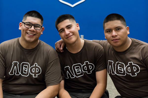 Lambda Theta Phi becomes first Greek fraternity on UNG's Gainesville Campus
