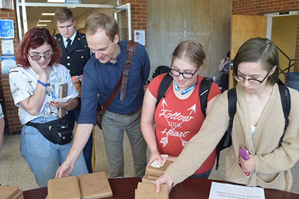 Students and faculty take part in Banned Books Week events