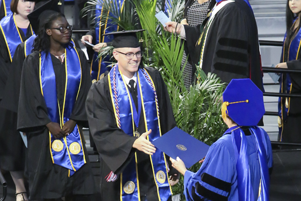 UNG's fall commencement ceremonies are set for 10 a.m. and 2 p.m. Dec. 14.