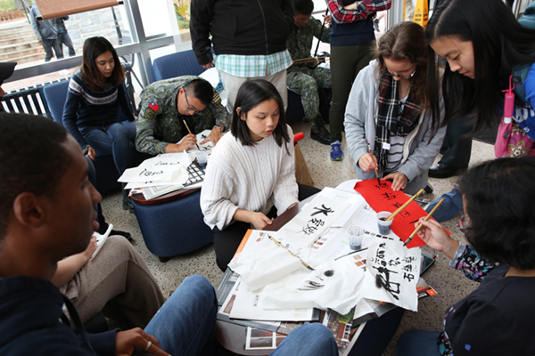 Students immersed in foreign cultures during International Education Week