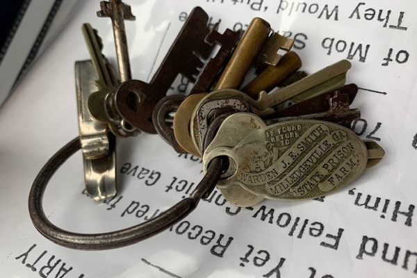 Student discovers key to Leo Frank's cell