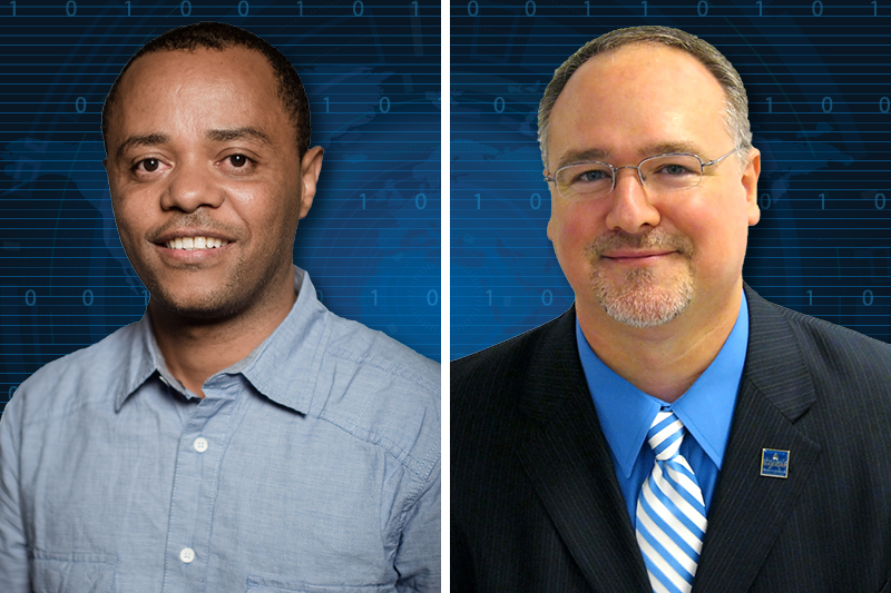 Two cybersecurity faculty earn high-level certifications