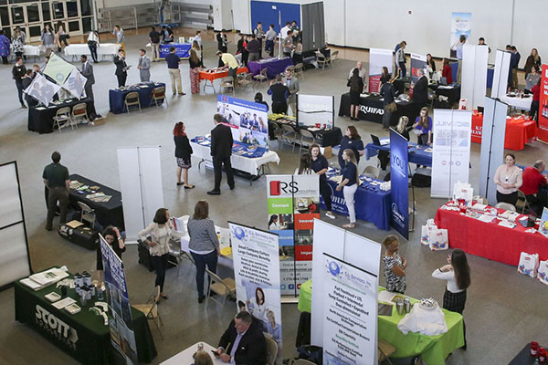 Spring career fairs offer job-seeking students a path to success
