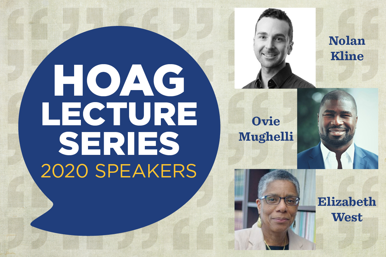 Hot topics on slate for Hoag Lecture Series