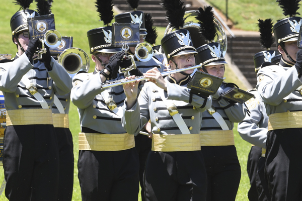 Golden Eagle Band to play in St. Patrick's Day Parade
