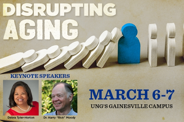 'Disrupting Aging' event set for March 6-7 at UNG