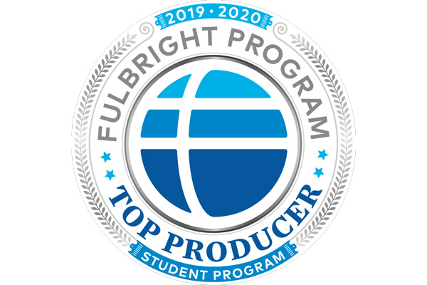 UNG has been designated as a top-producing institution for the Fulbright U.S. Student Program for the 2019-20 academic year. UNG also is the only public and private university in Georgia to receive the recognition for student program in the current academic year.