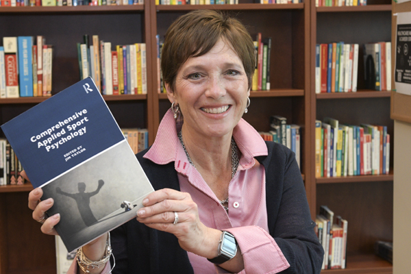 Faculty member coauthors chapter in sports psychology text