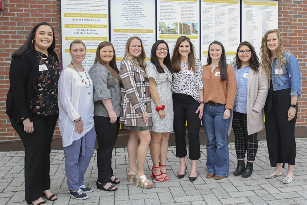 Alumnae and female UNG students recognized for leadership