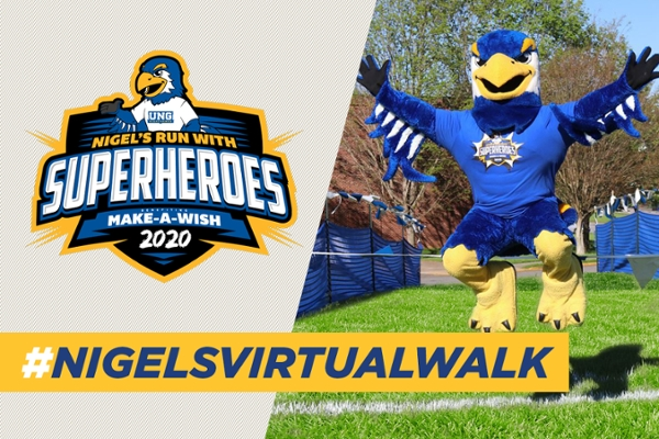 Nigel's Walk and Run with Superheroes goes virtual April 6-12