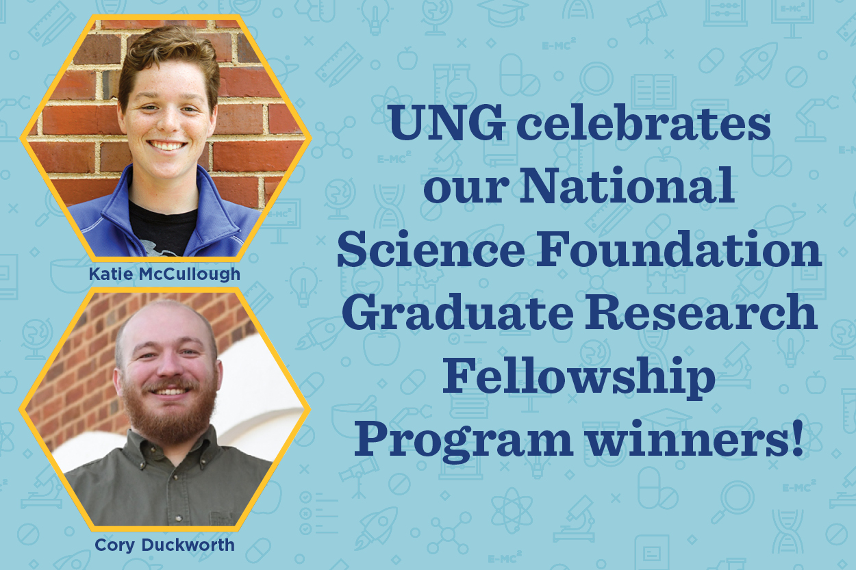 Two alumni earn prestigious graduate fellowship