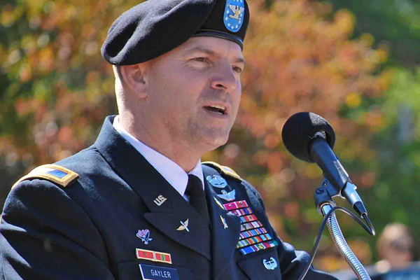 Alumnus Gayler named chief of staff for U.S. Africa Command