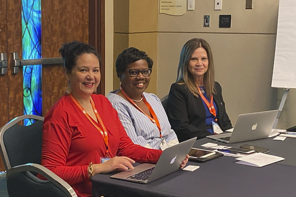 Grants and Contracts staff present at national conference