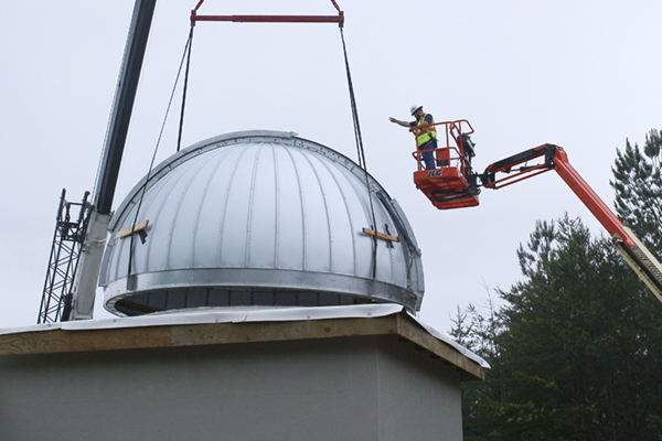 Domes installed at UNG's new observatory