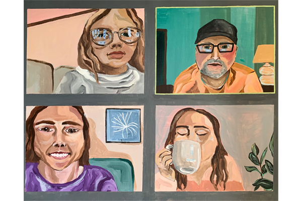 First virtual exhibition displays artwork inspired by COVID-19