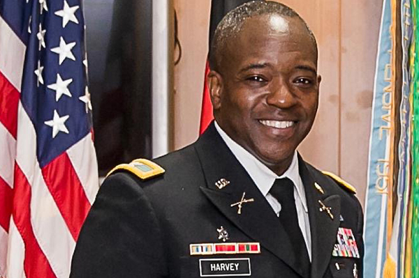 Alumnus Col. Patrick Harvey retires after 30-year Army career