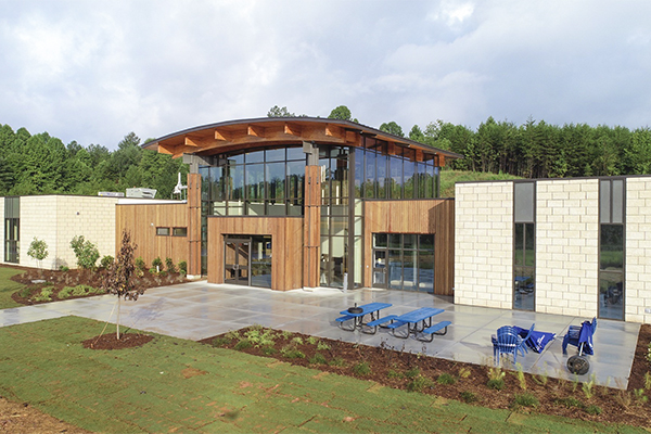 Ribbon-cutting set for new Blue Ridge Campus
