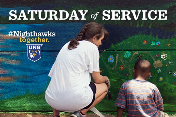 Saturday of Service goes virtual