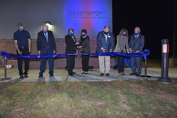 Construction complete on state-of-the-art observatory near Dahlonega Campus