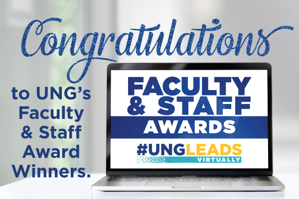 Faculty and staff awards presented at UNG LEADS Day