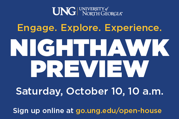 Virtual Nighthawk Preview offers high school students info on all five UNG campuses