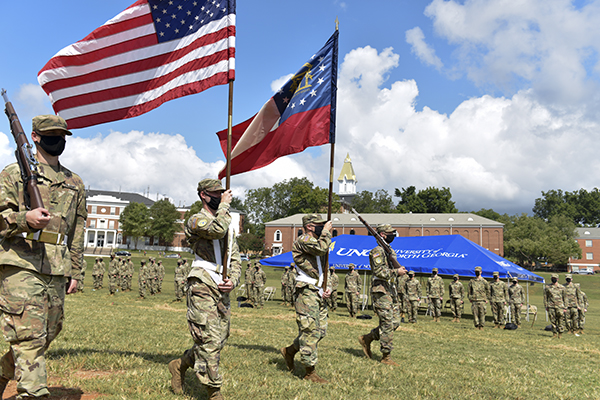 Corps of Cadets wins AUSA Most Active Company award