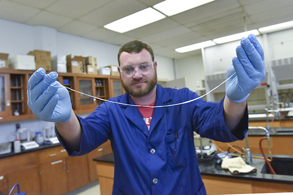 Three students and two faculty publish paper in chemistry journal