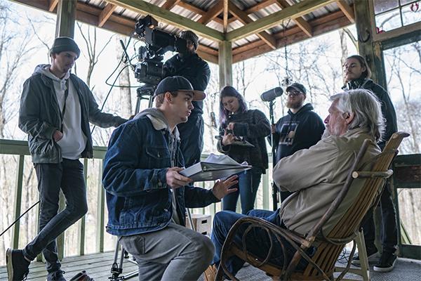 Senior's film earns praise in local newspaper