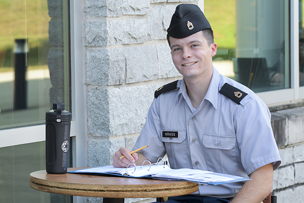 Cadet Krass wins Coast Guard Foundation scholarship