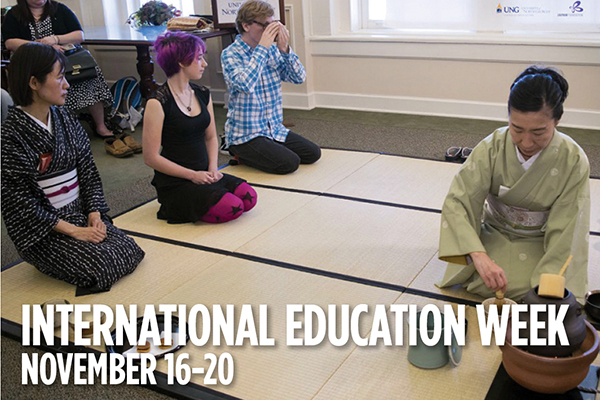 Food and culture featured during the 2020 International Education Week