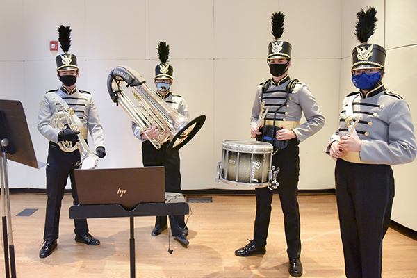 Golden Eagle Band members to perform virtually in national championship game