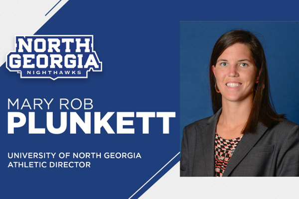 Plunkett appointed UNG athletic director
