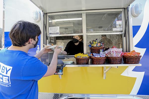 Food trailer offers new option for students and community
