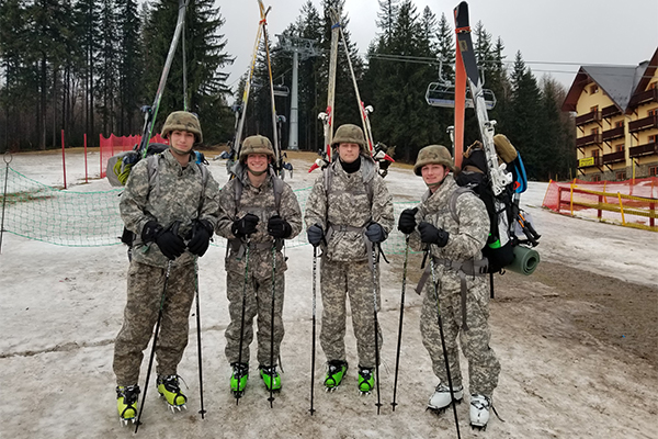 Olmsted Foundation continues support of international trips for cadets