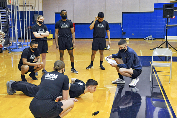 Cadets raise more than $13,000 for suicide intervention efforts