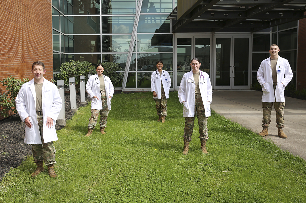 Five cadets selected by Army for Nurse Summer Training Program