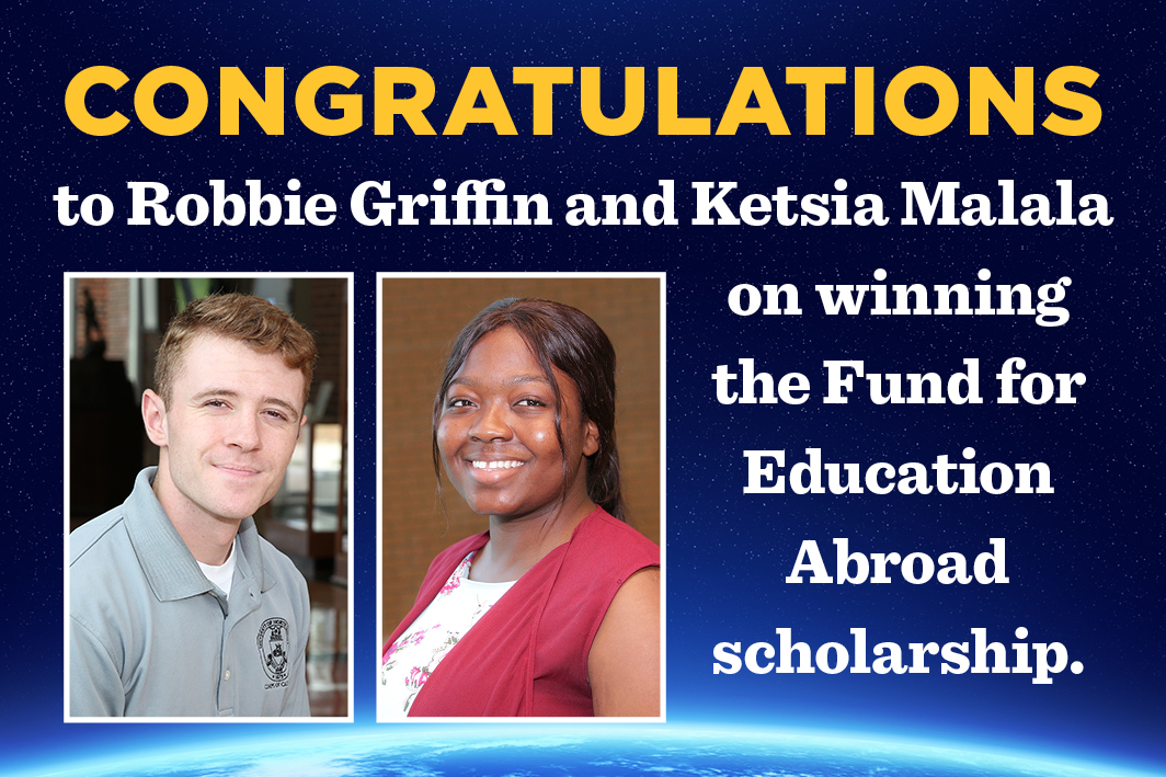 Freshman and junior win Fund for Education Abroad scholarships
