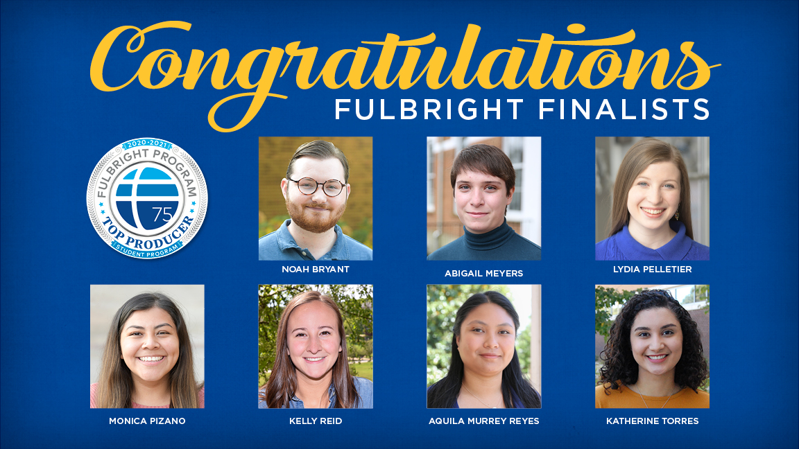 Seven from UNG selected for Fulbright awards