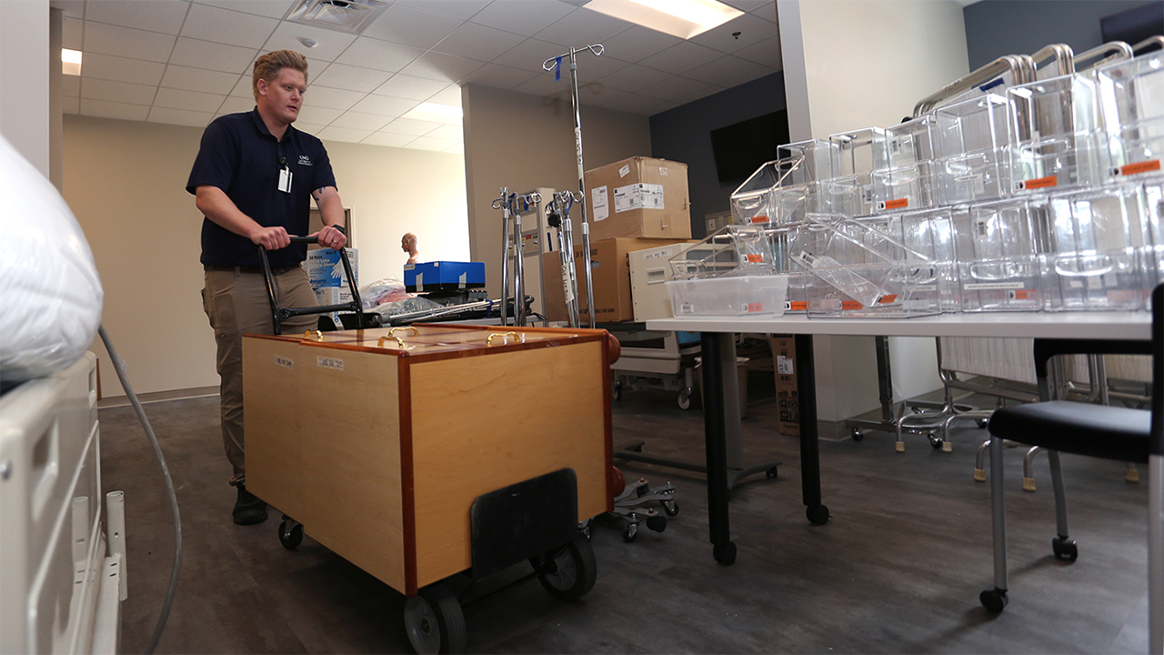 Faculty move into new buildings on Gainesville Campus