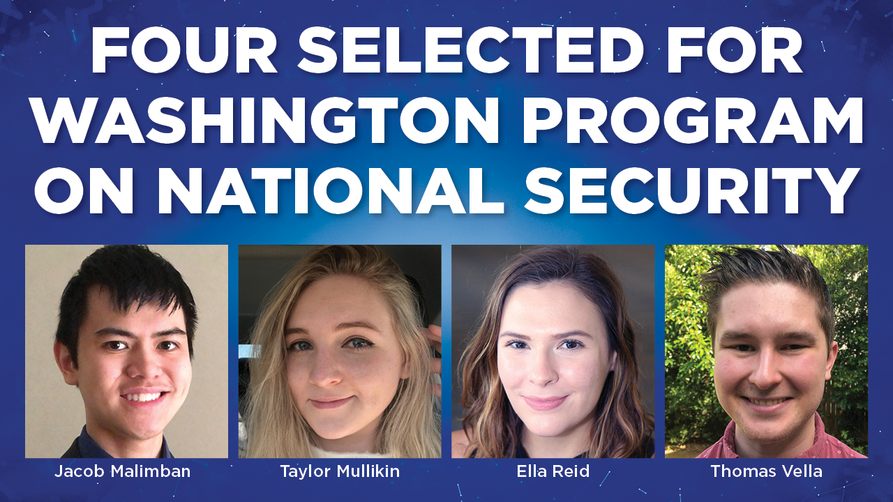 Program links students with national security experts