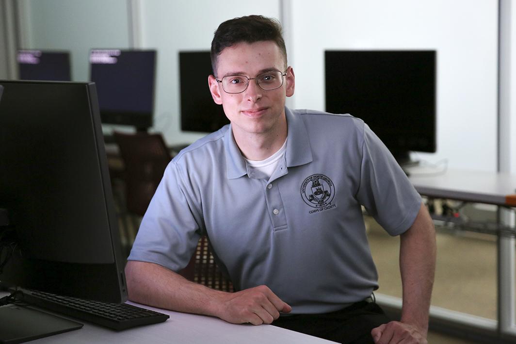Senior cadet wins Armed Forces scholarship