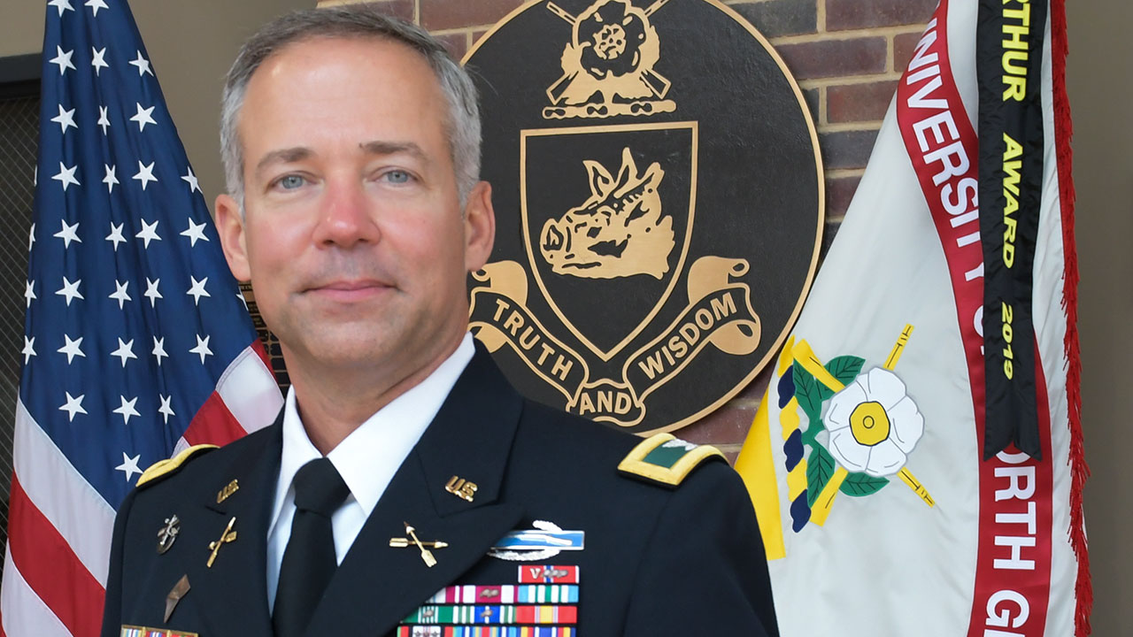Kirk named professor of military science