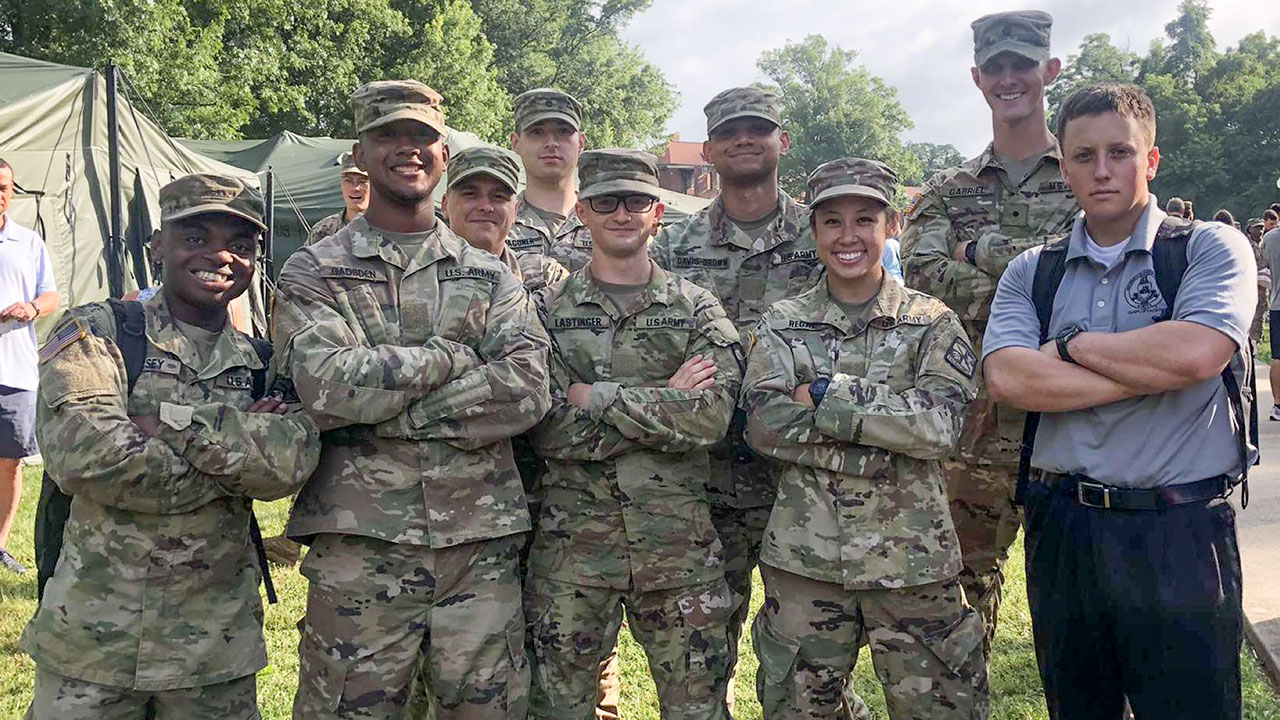 Record 153 cadets take part in Advanced Camp