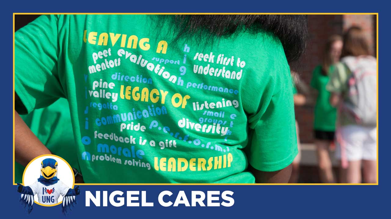 Nigel Cares: Connect and get involved