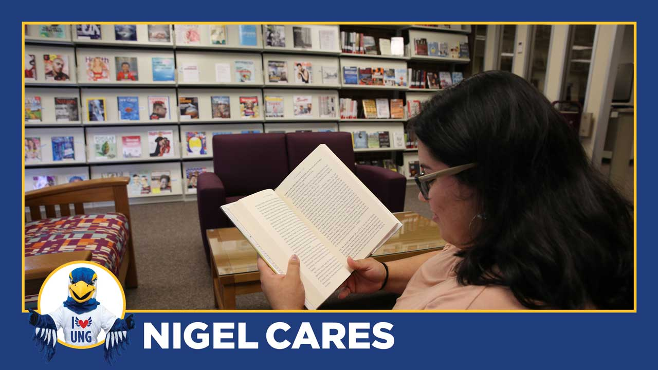 Nigel Cares:  Connect to Campus