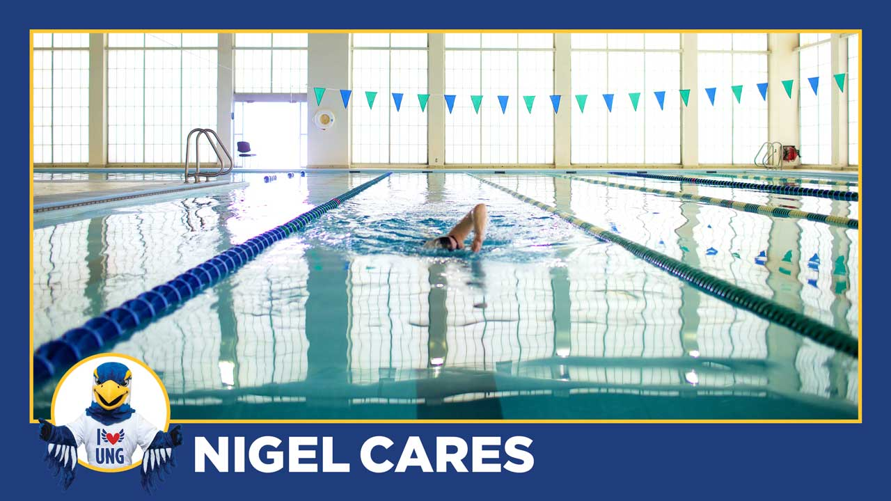 Nigel Cares: Taking  care of yourself
