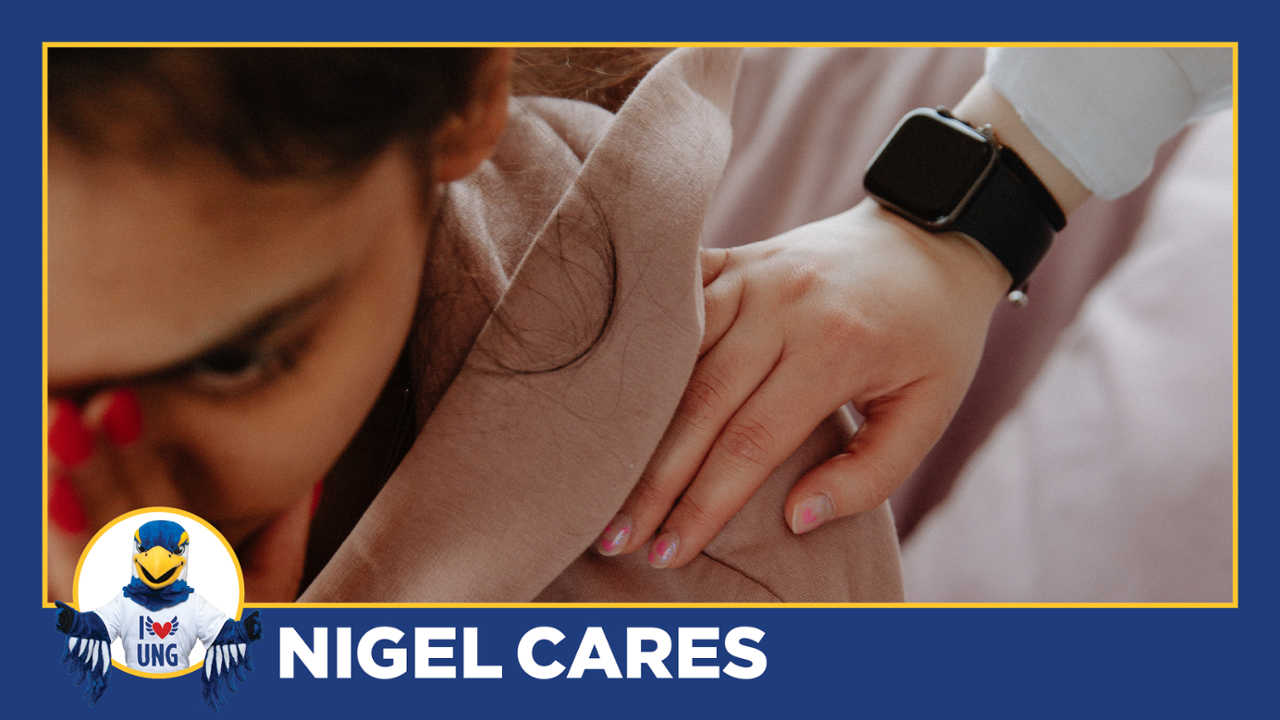 Nigel Cares: How to help a friend