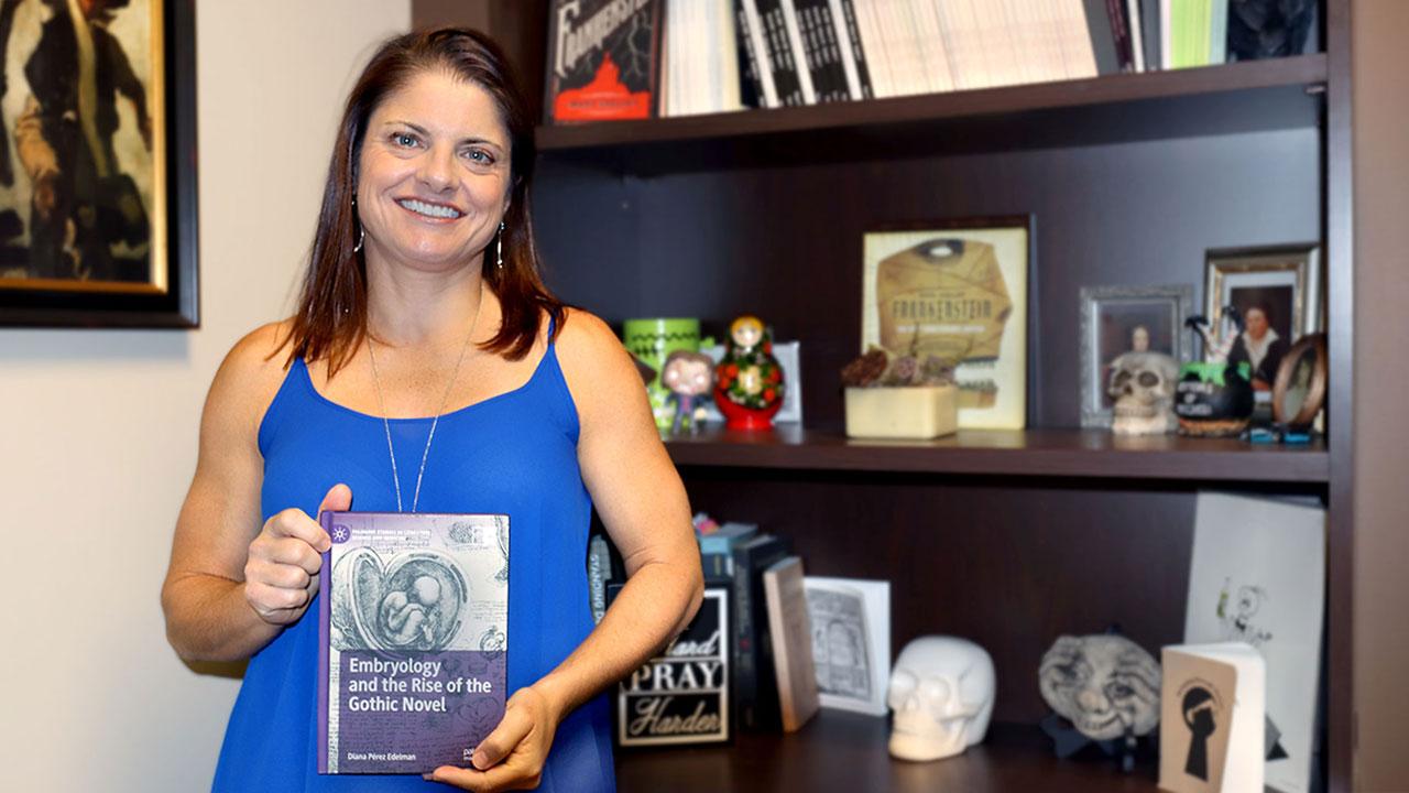 English professor publishes Gothic book